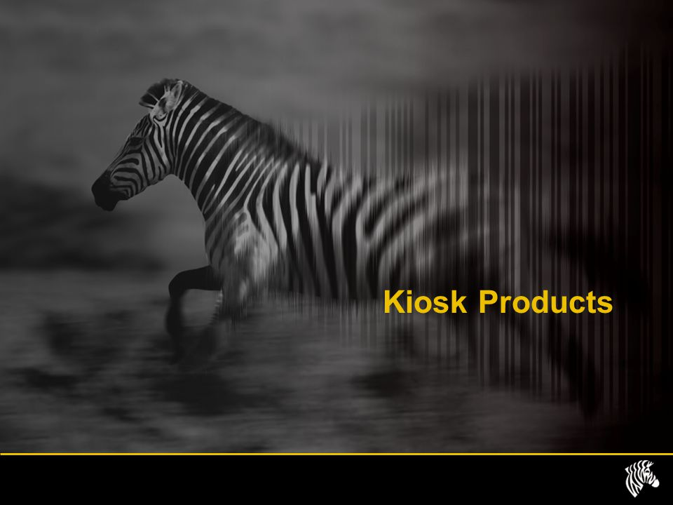 Kiosk Products Some of our kiosk product range is also available as desktop units, so Zebra kiosk printers don't always need to be embedded.