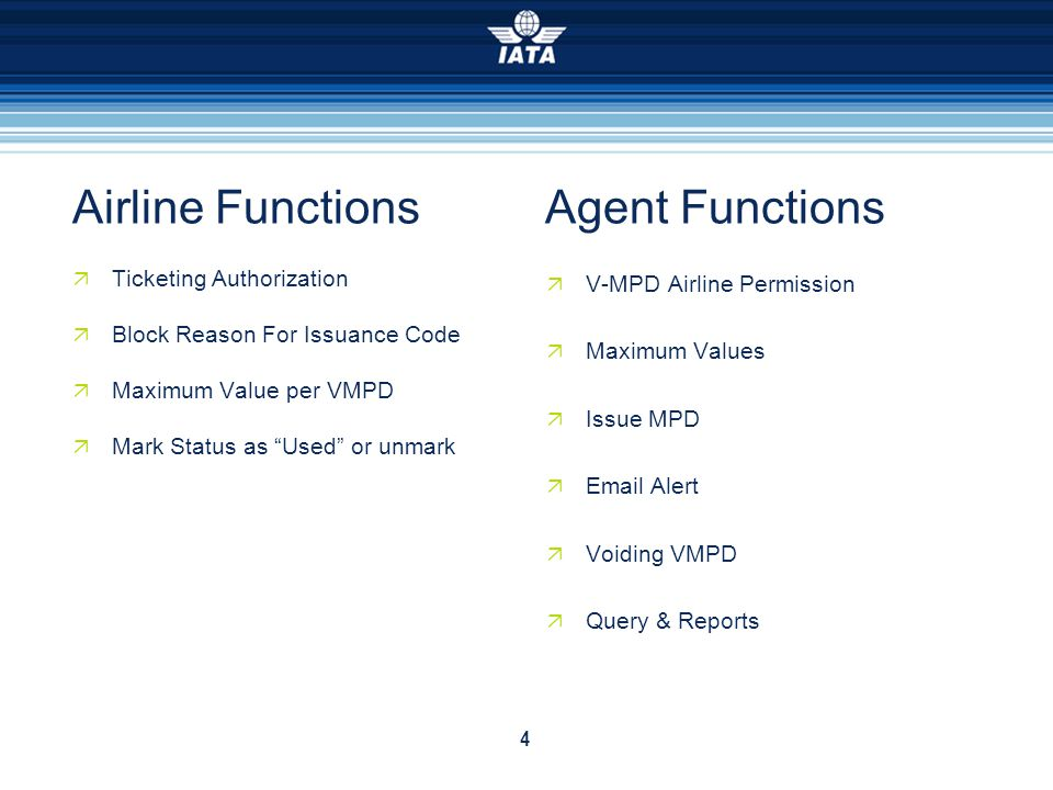 Airline Functions Agent Functions