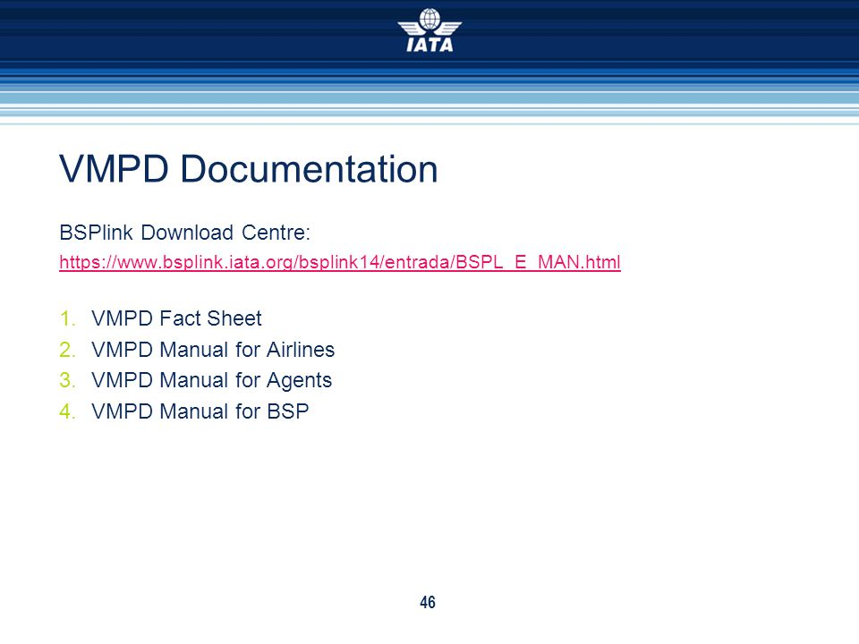 VMPD Documentation BSPlink Download Centre: VMPD Fact Sheet
