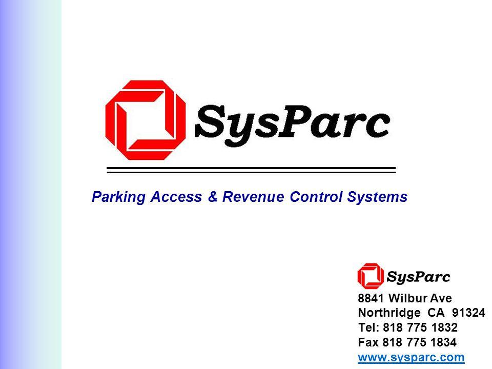 Parking Access & Revenue Control Systems