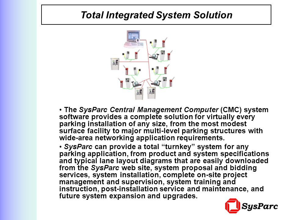 Total Integrated System Solution