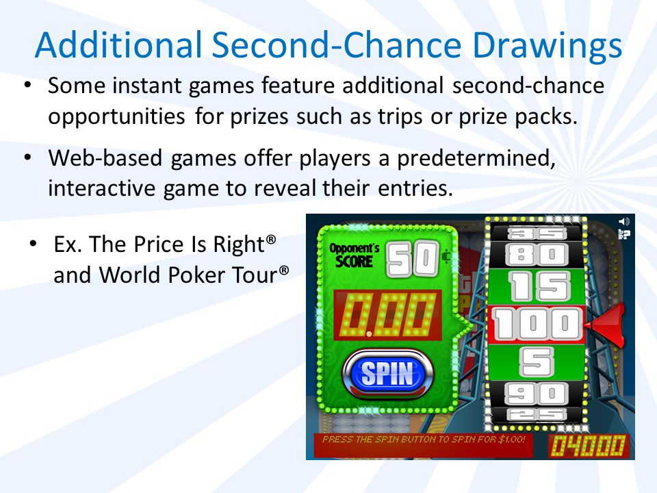 Va lottery second chance web code poker