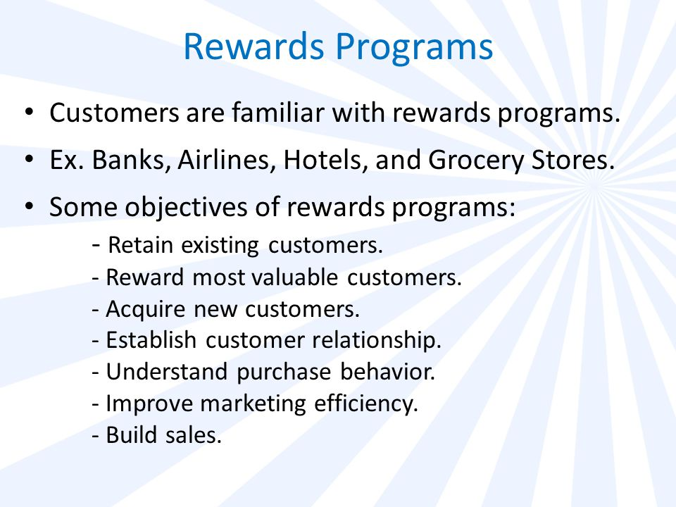 Rewards Program Participation is Soaring