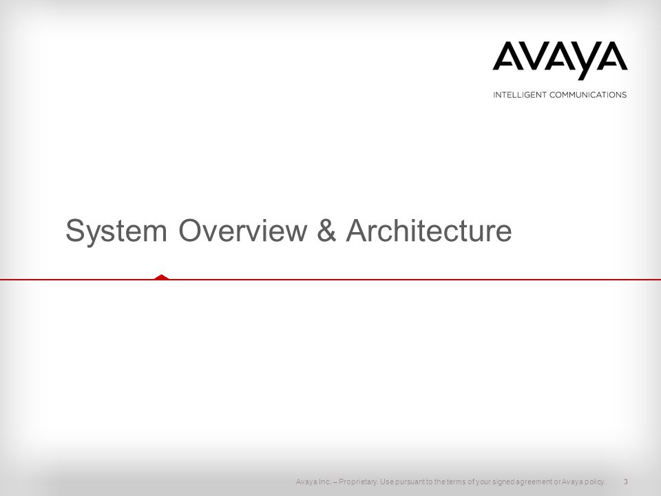 System Overview & Architecture