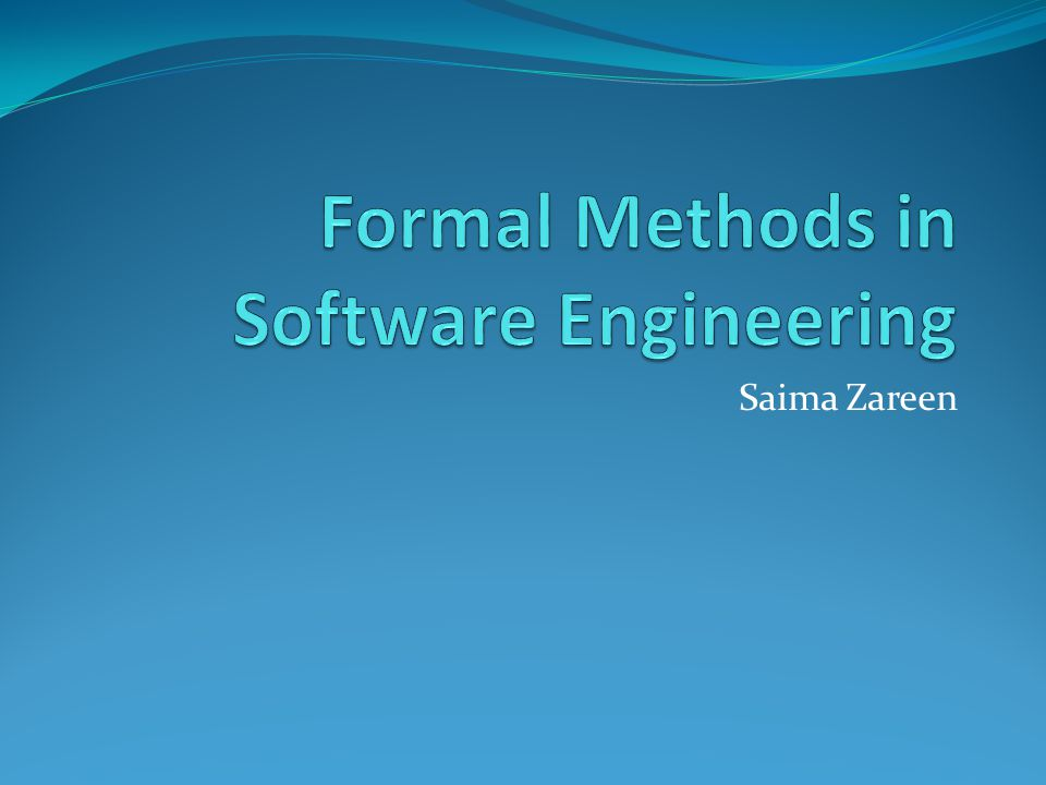 the formal methodologies in software engineering A software development methodology or system development methodology in software engineering is a kind of formal documentation specific software.