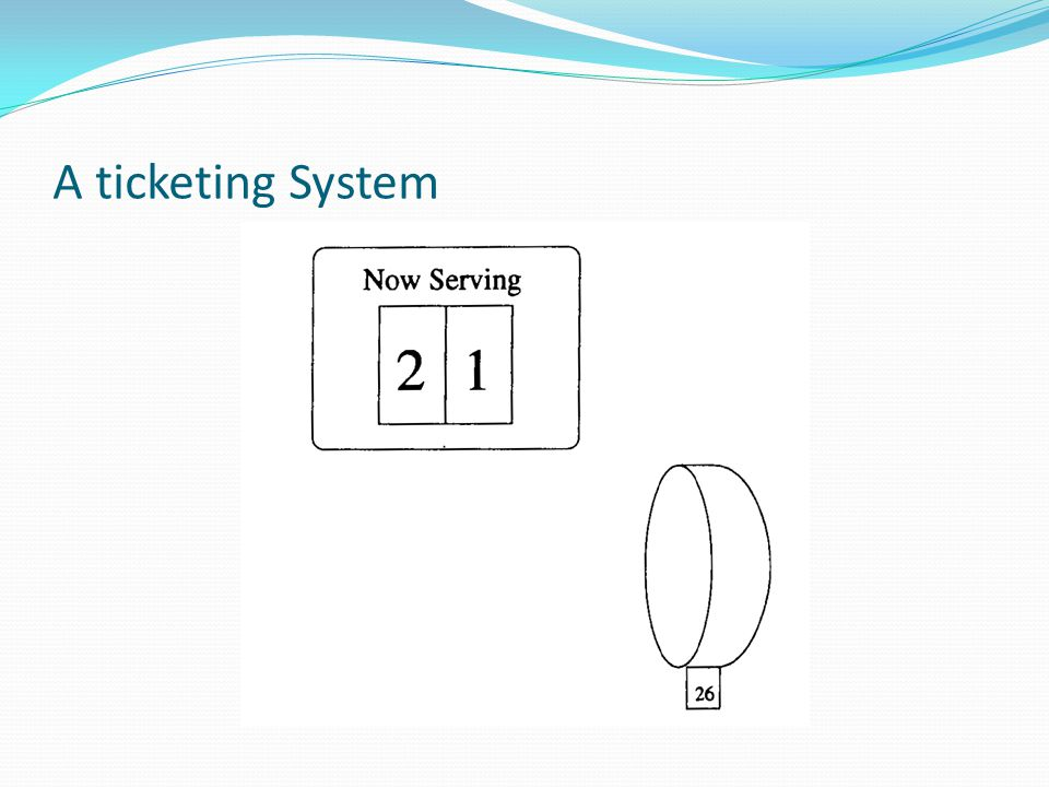 A ticketing System