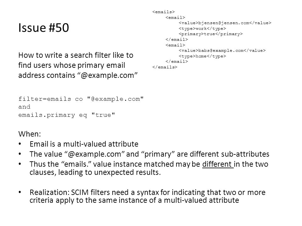 Issue #50 How to write a search filter like to