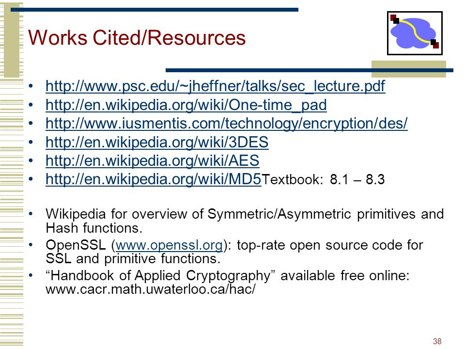 Works Cited/Resources