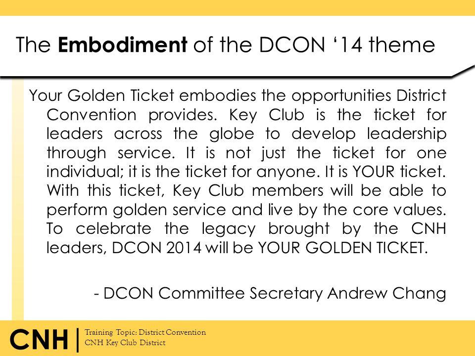 The Embodiment of the DCON '14 theme