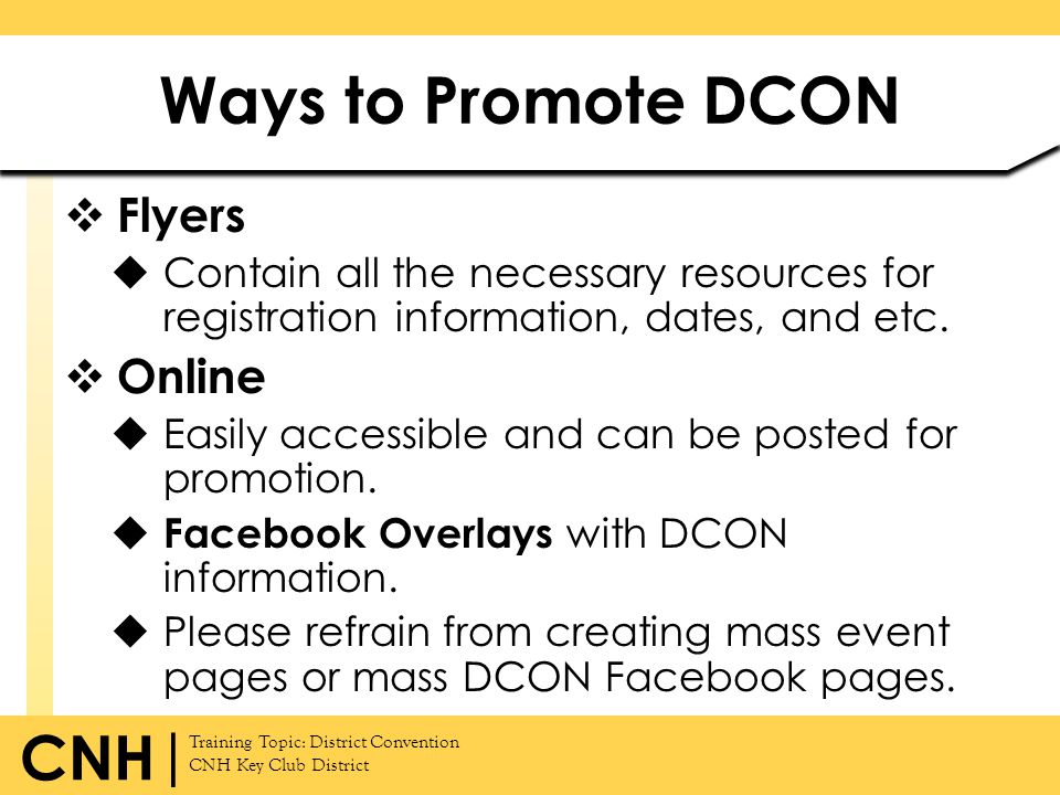 Ways to Promote DCON Flyers Online