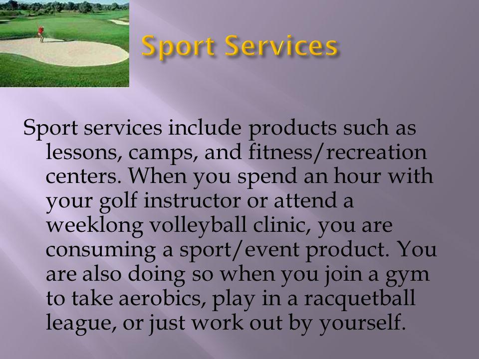 Sport Services