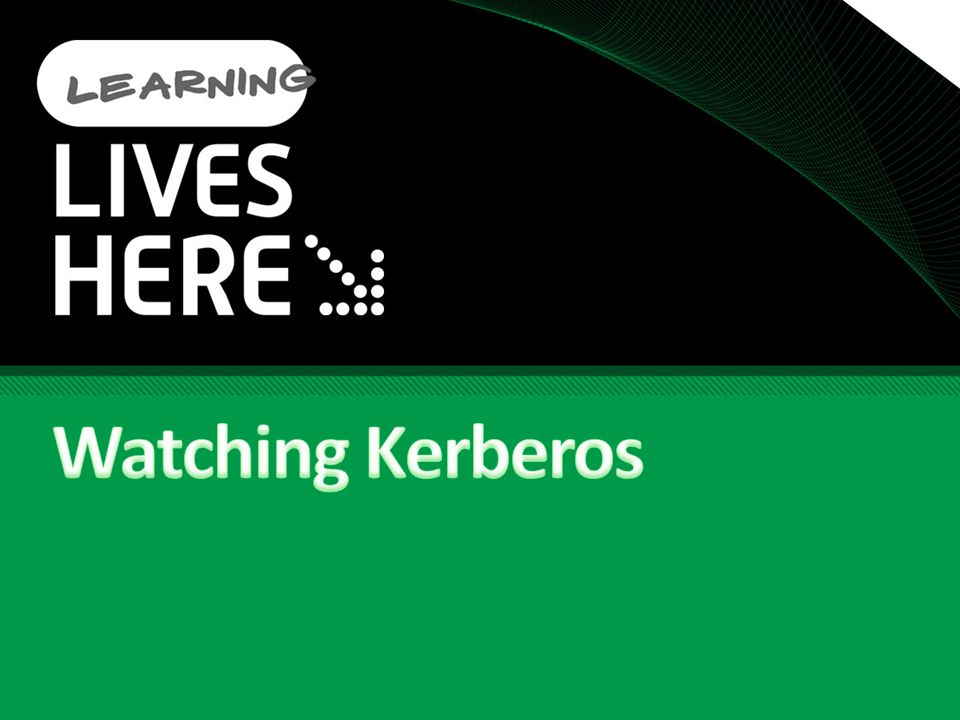 Watching Kerberos