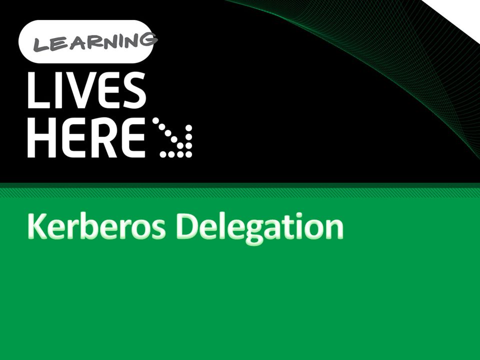 Kerberos Delegation