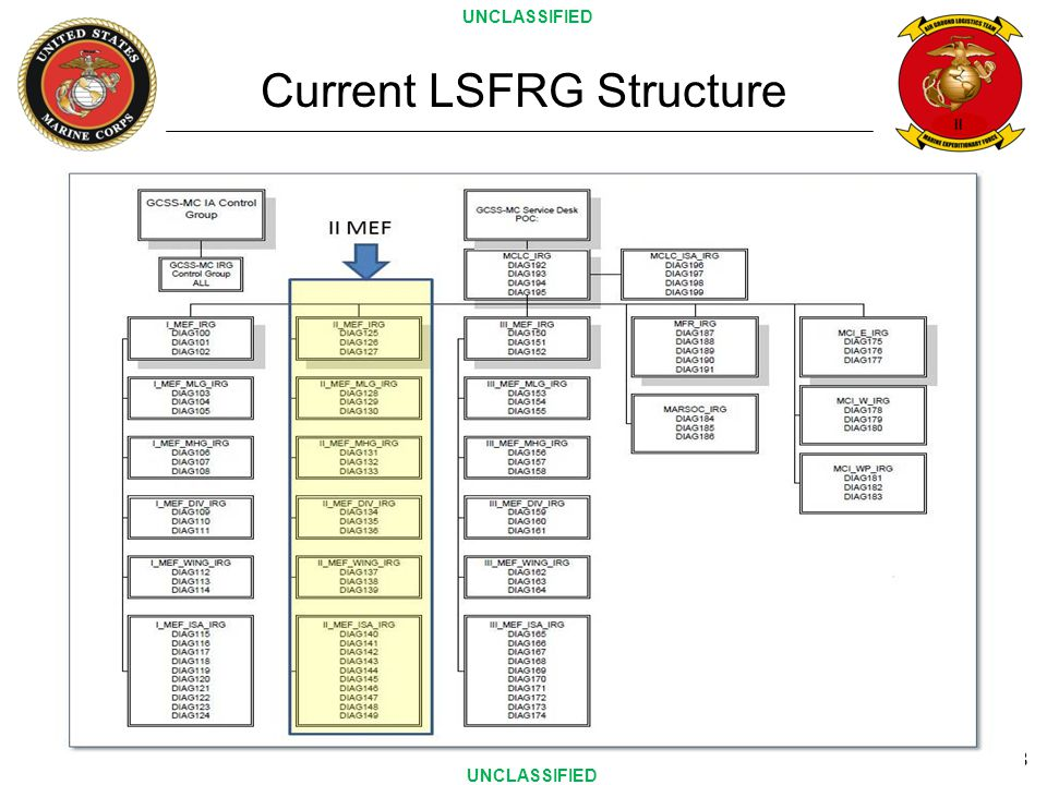 Current LSFRG Structure