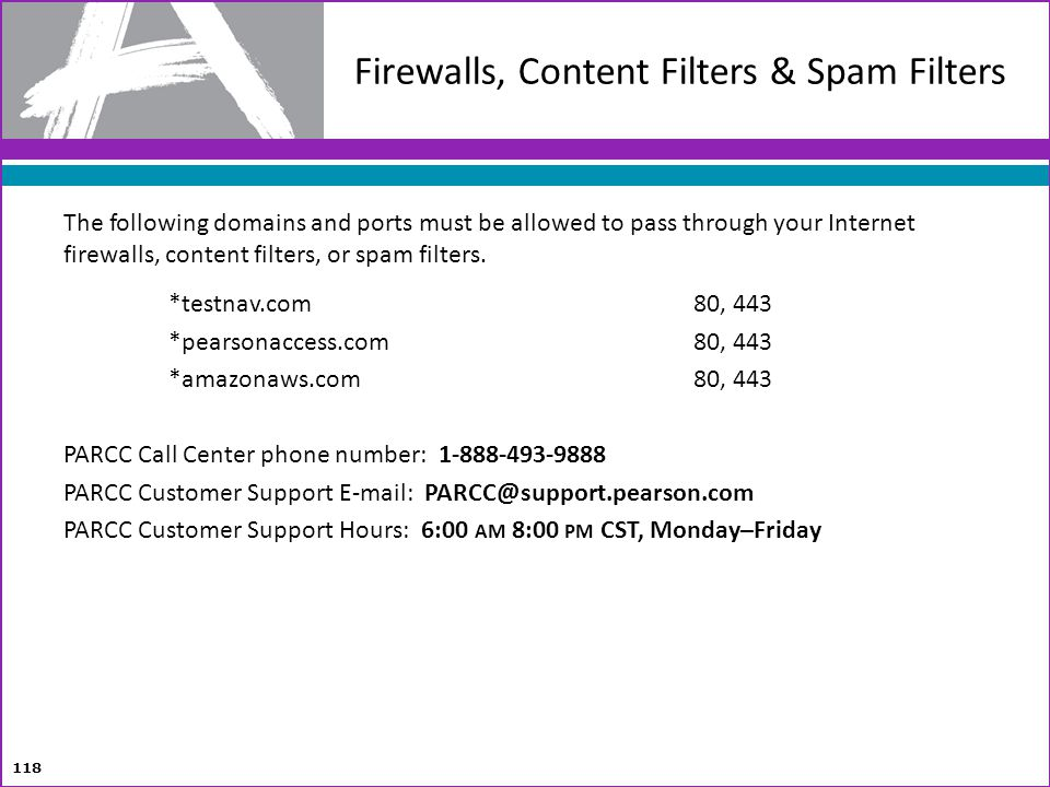 Firewalls, Content Filters & Spam Filters