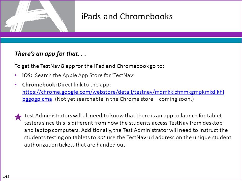 iPads and Chromebooks There's an app for that. . .