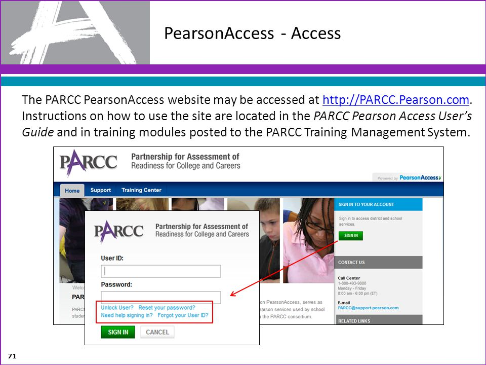 PearsonAccess - Access