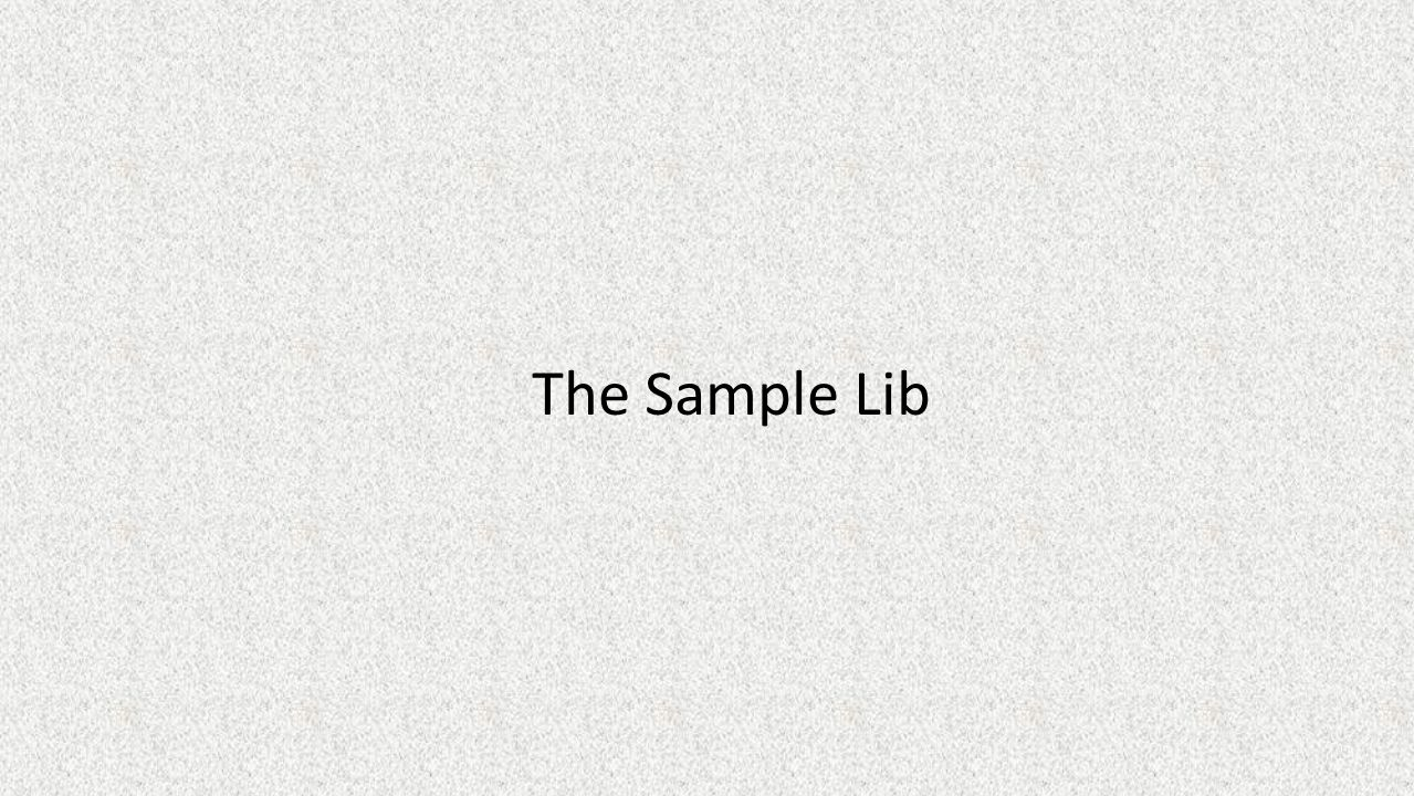 The Sample Lib