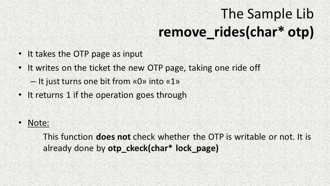 remove_rides(char* otp)