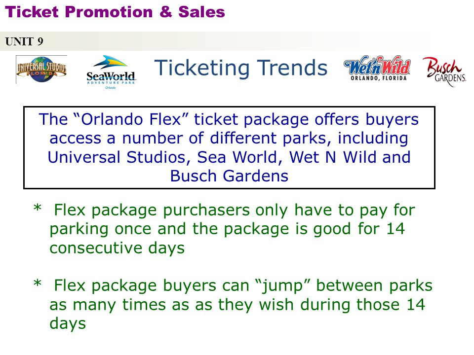 Ticketing Trends Ticket Promotion & Sales
