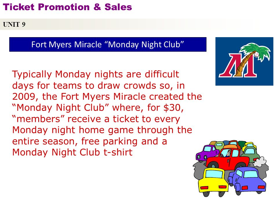 Fort Myers Miracle Monday Night Club