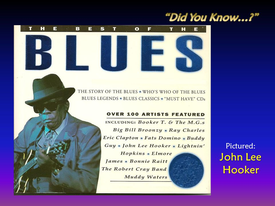 Did You Know… John Lee Hooker