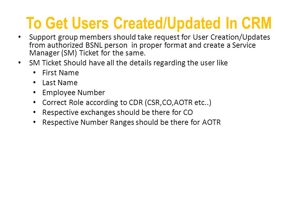 To Get Users Created/Updated In CRM