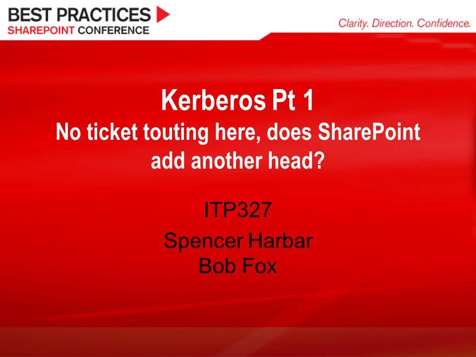 ITP327 Spencer Harbar Bob Fox