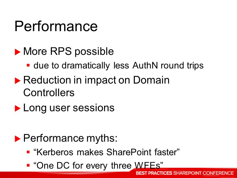 Performance More RPS possible