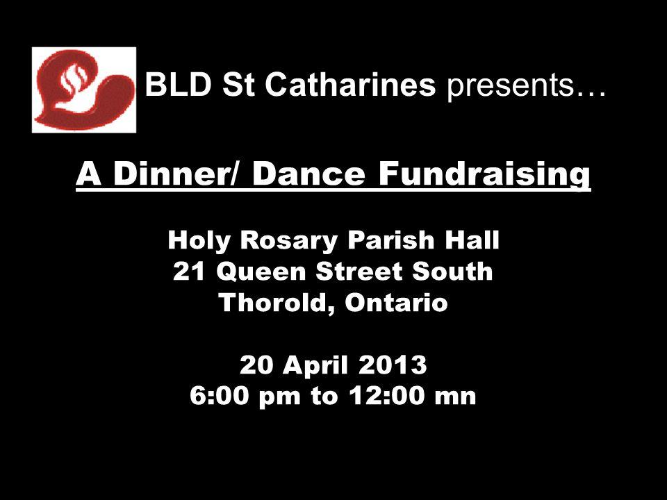 A Dinner/ Dance Fundraising