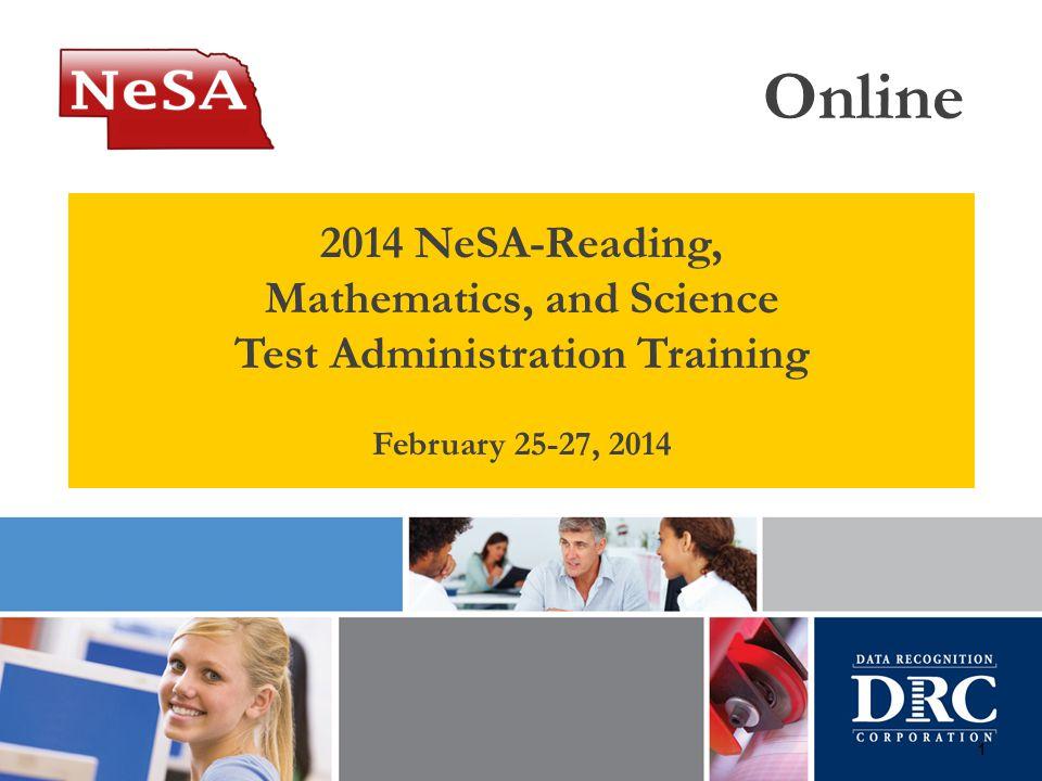 Online 2014 NeSA-Reading, Mathematics, and Science