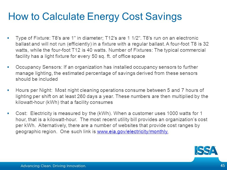 How to Calculate Energy Cost Savings