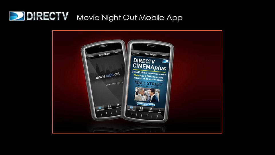 Movie Night Out Mobile App