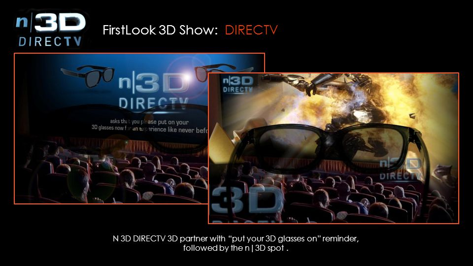 FirstLook 3D Show: DIRECTV