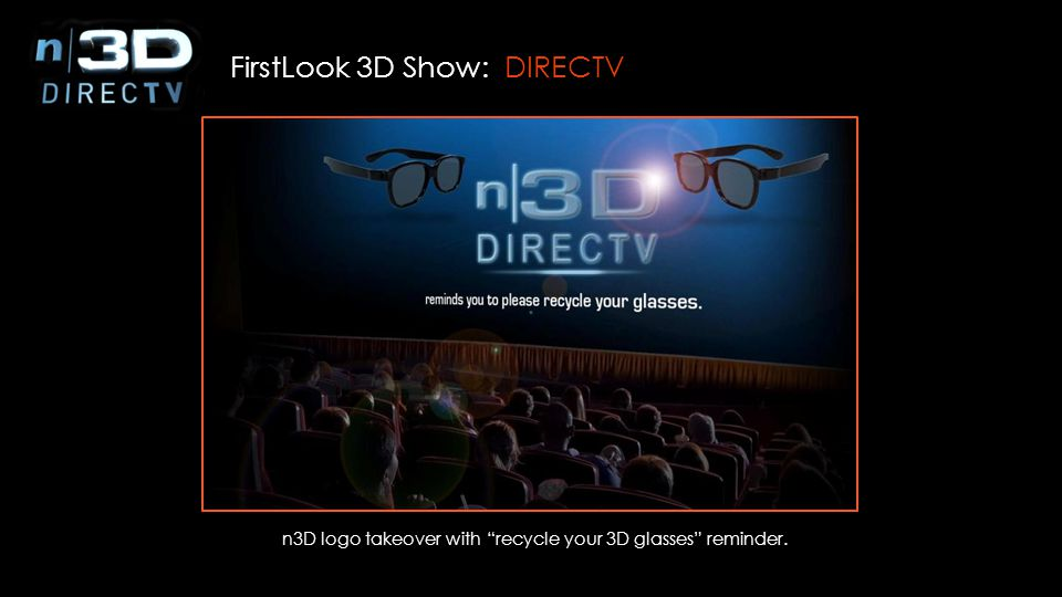 n3D logo takeover with recycle your 3D glasses reminder.
