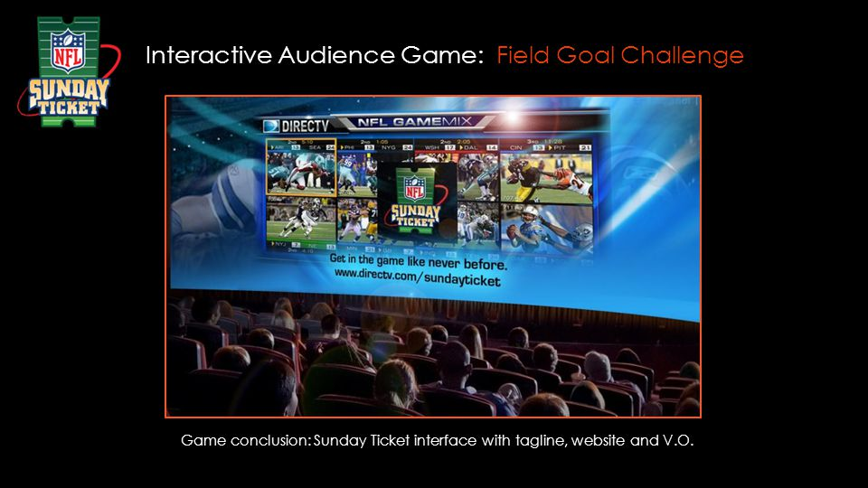 Interactive Audience Game: Field Goal Challenge