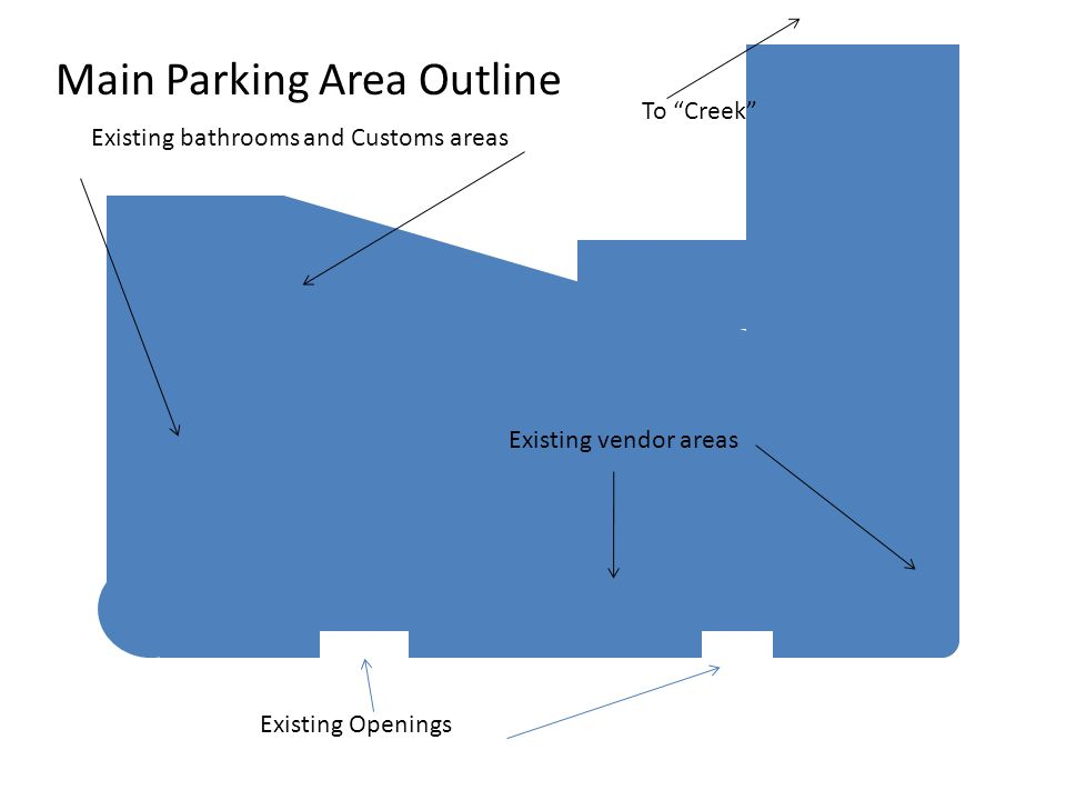 Main Parking Area Outline