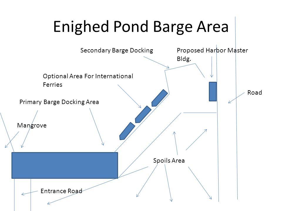 Enighed Pond Barge Area