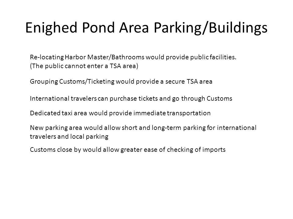 Enighed Pond Area Parking/Buildings