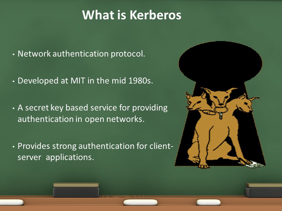What is Kerberos Network authentication protocol.