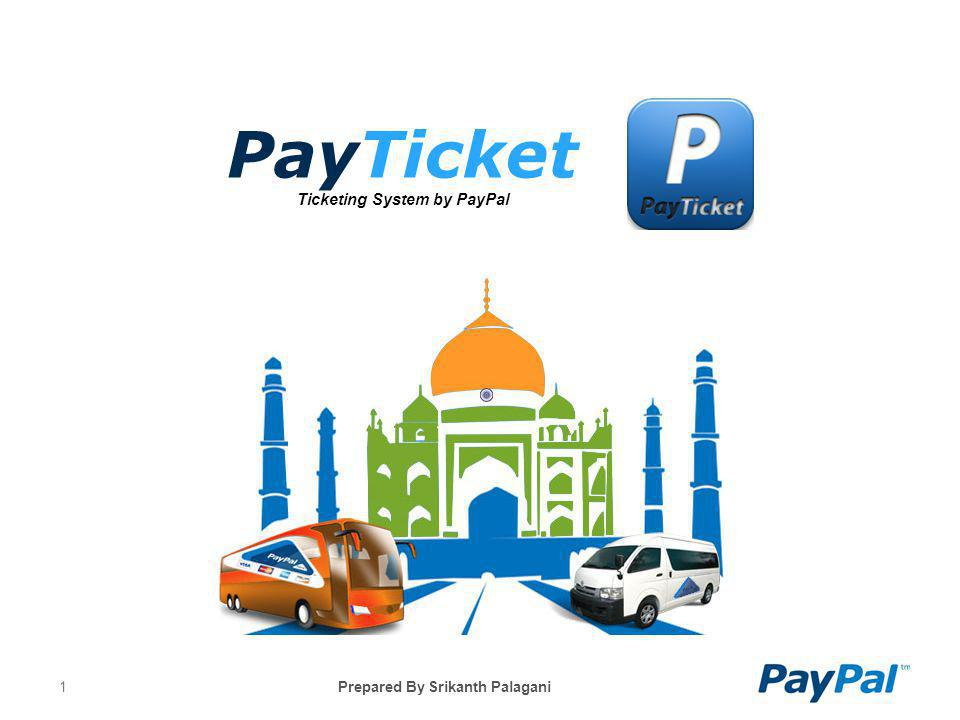PayTicket Ticketing System by PayPal
