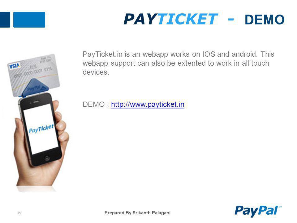 PayTicket - DEMO