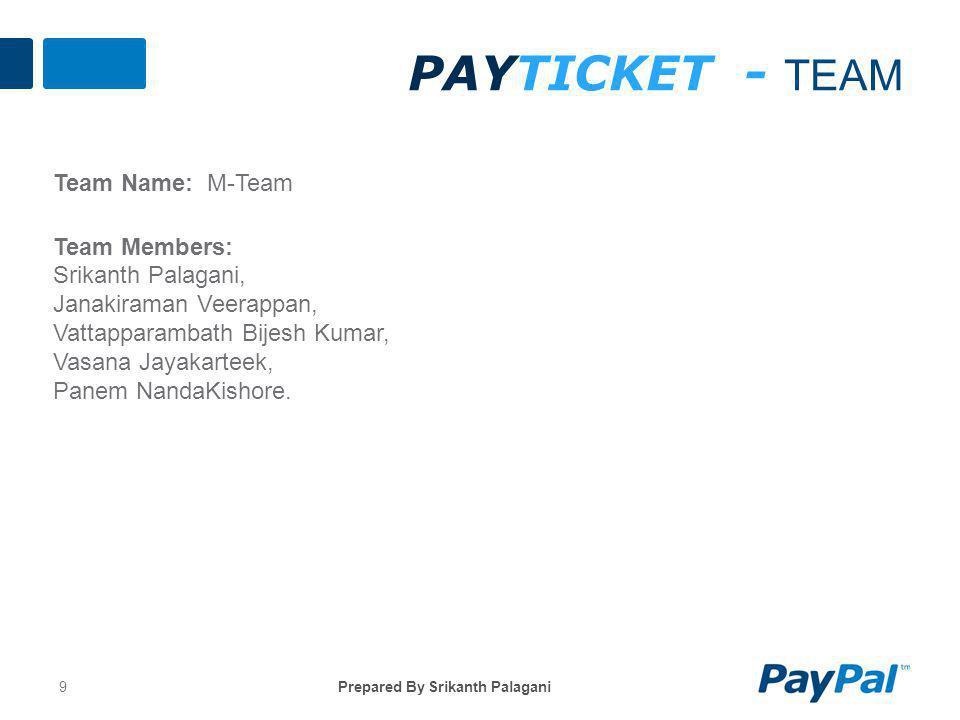 PayTicket - TeaM