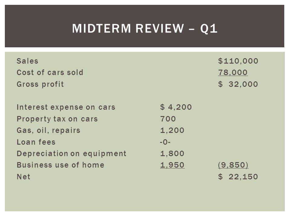 Midterm Review – Q1