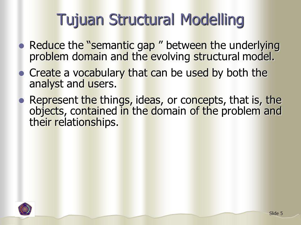 Tujuan Structural Modelling