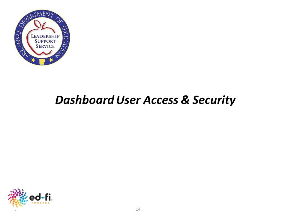 Dashboard User Access & Security
