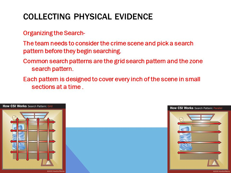 Collecting Physical Evidence