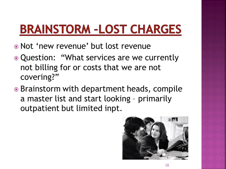 Brainstorm –Lost Charges