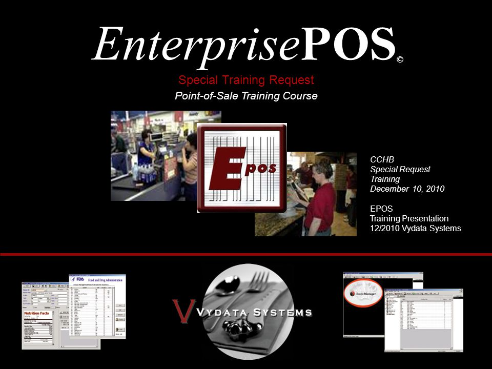 EnterprisePOS© Special Training Request Point-of-Sale Training Course