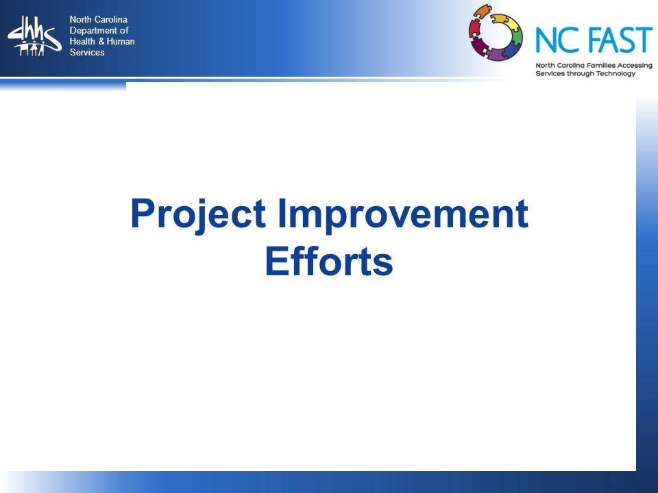 Project Improvement Efforts